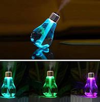 Светящийся увлажнитель воздуха в виде лампочки. Светящаяся лампочка-увлажнитель