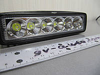 Cветодиодная фара 18Вт. дальнего света LED GV-2218W spot, фото 1