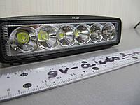 Дополнительная фара 18Вт.  LED GV-2218W spot, фото 1