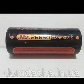 Аккумулятор HUMINGZHU 26650 6800 мА/ч