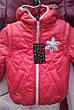 Детская красивая куртка-жилетка с аппликацией со стразиками 92-110., фото 4