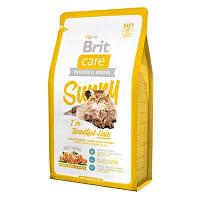 Brit Care Cat Sunny I have Beautiful Hair 7кg лососем и рисом для кошек