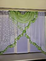 """Занавеска на небольшое окно""""Емилия"""", фото 1"""