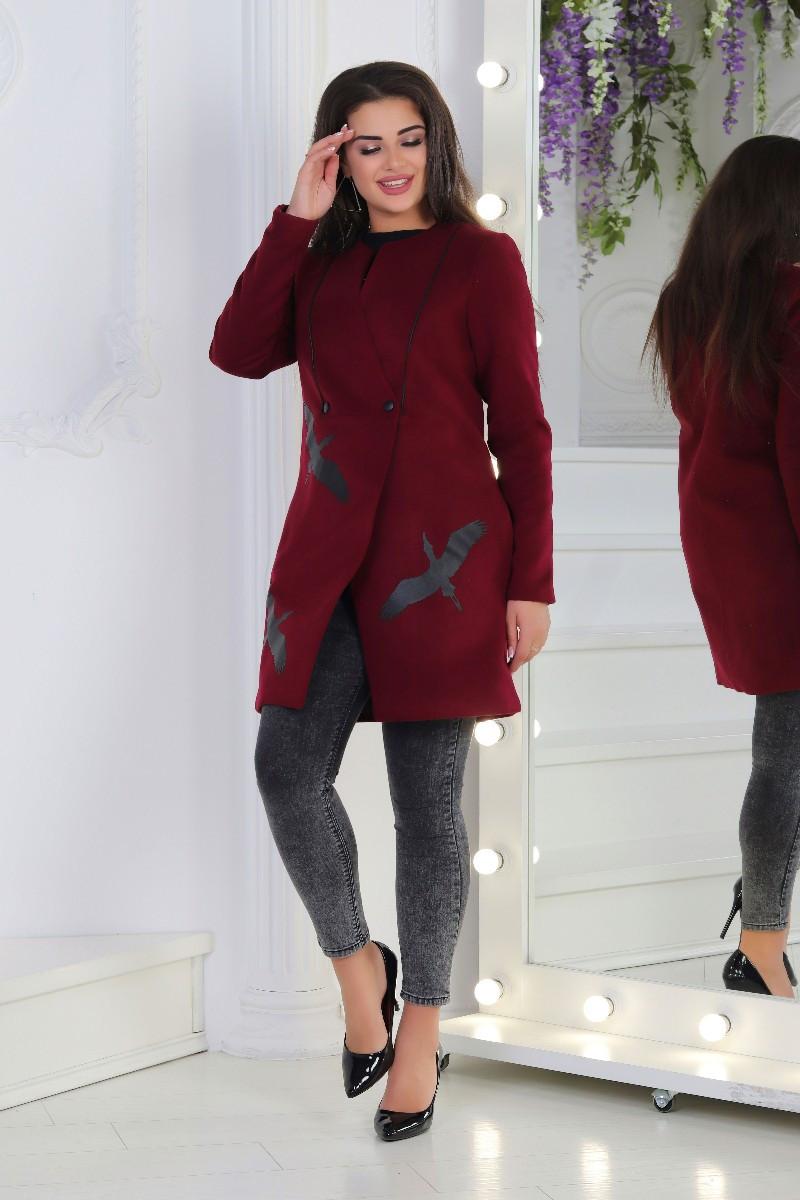 fc1037c204e Женское стильное кашемировое полупальто в большом размере  продажа ...