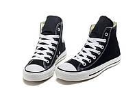 Кеды Converse Black высокие черные