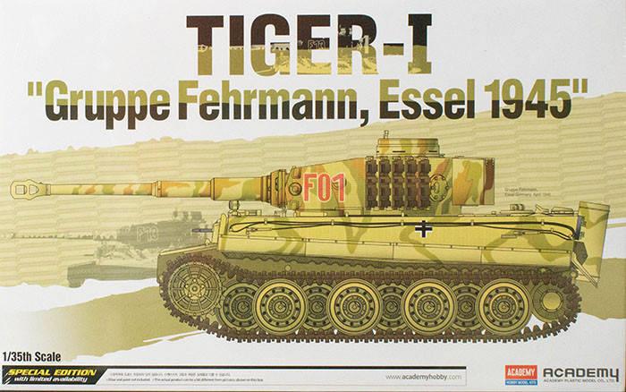 Special Edition Tiger-I Gruppe Fehrmann Essel 1945. 1/35 ACADEMY 13299, фото 2