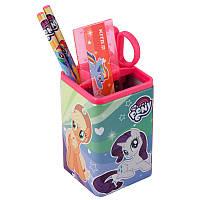 Настольный Канцелярский Набор Kite Little Pony 4 предмета квадратный (lp19-214)