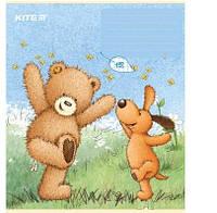 Тетрадь школьная Kite 18 лист., линия, Popcorn Bear (38834)