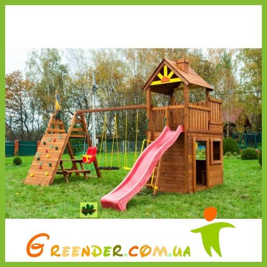 Деревянный детский спортивный комплекс Свобода