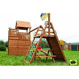 Деревянный детский спортивный комплекс Свобода, фото 4