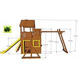 Деревянный детский спортивный комплекс Свобода, фото 6