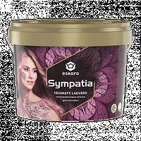 Краска для потолка матовая Эскаро Симпатия ведро 9,5 литра