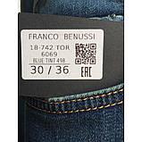 """Мужские джинсы для высоких мужчин 18-742 L: 36"""" темно-синие, фото 7"""
