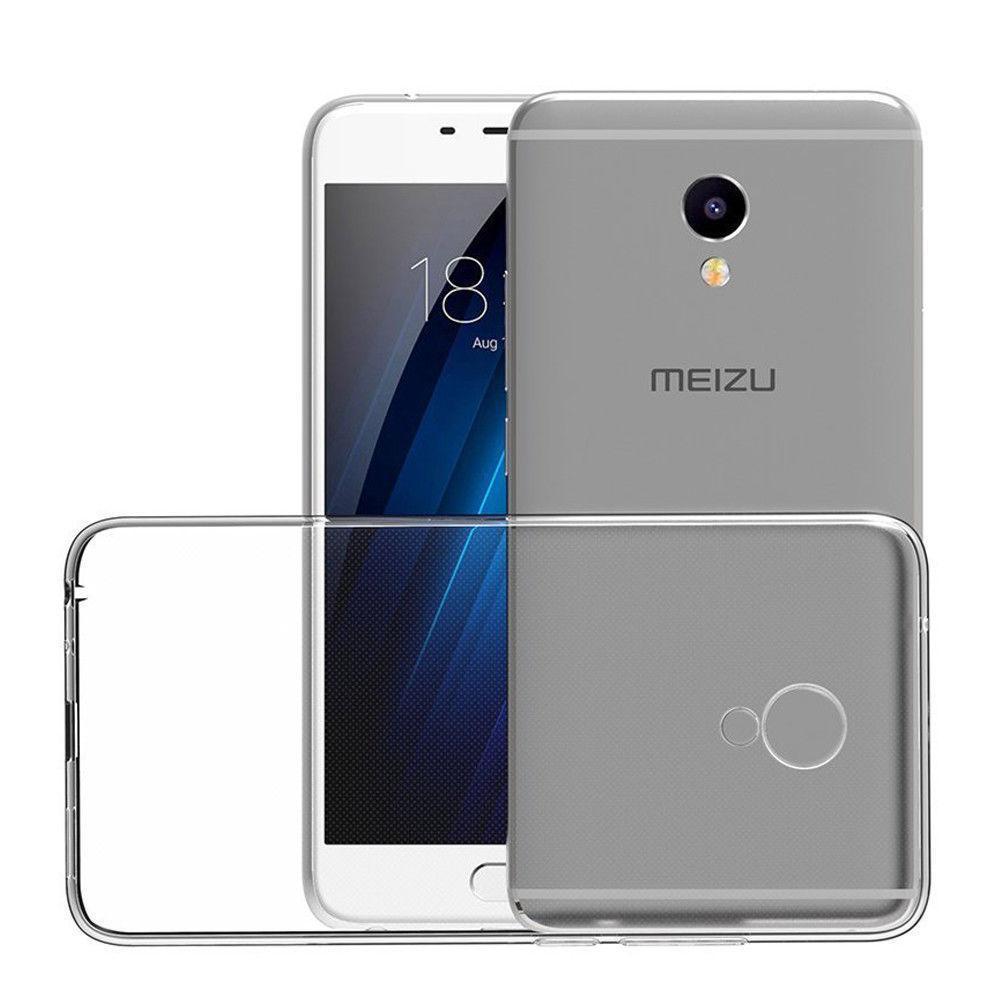 Meizu M3 защитный силиконовый (ТРU) чехол накладка