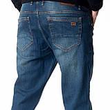 """Мужские джинсы для высоких мужчин 18-742 L: 36"""" темно-синие, фото 5"""