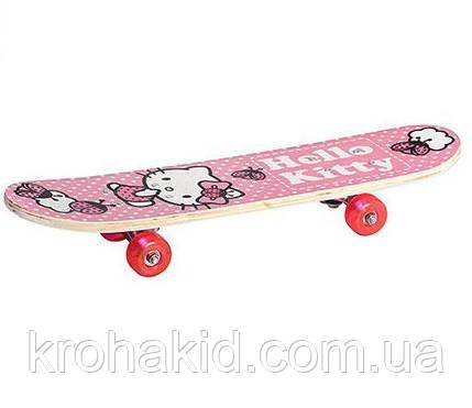 СкейтНК 0052 Holly Kitty Розовый в сумке, фото 2