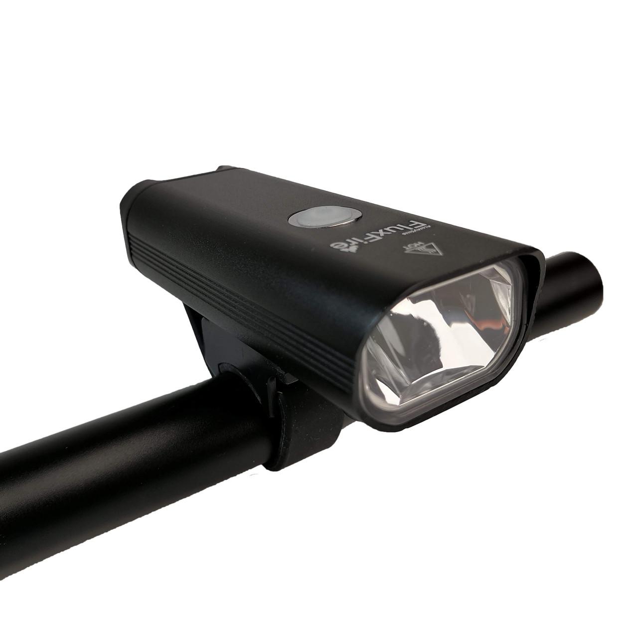 """Велосипедная LED Фара """"FluxFire"""" USB черная"""