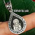 Серебряная ладанка Богородица Семистрельная - Семистрельная Богородица кулон серебро 925, фото 3