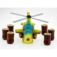 Подарочный набор Вертолет, 7 предметов, фото 1