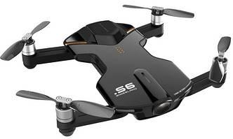 Квадрокоптер Wingsland S6 GPS 4K Pocket Drone Black (6381690)