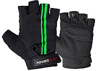 Велоперчатки PowerPlay black/green