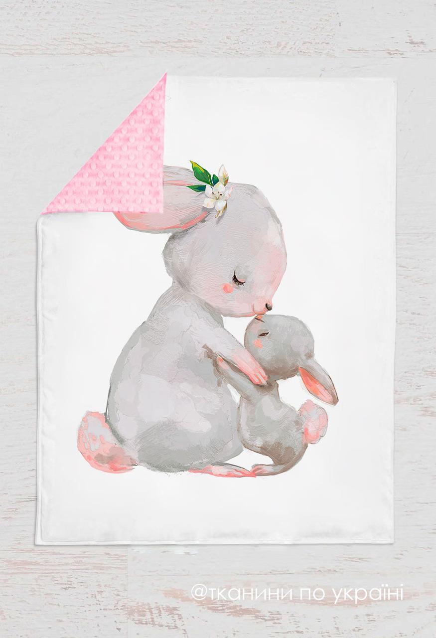 Панелька сатин Кролик мама 155*100