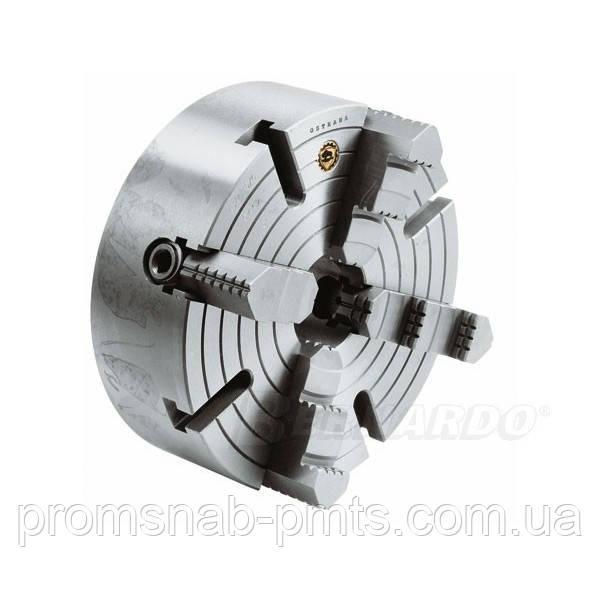 Патрон токарный Bison-Bial 4х кул. 4334-500-8 аналог 7103-0052