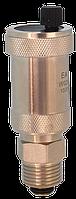 Воздухоотводчик автоматический прямой с клапаном хромированый EA