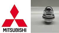 Гайка колеса 12х1.5х37 Прессшайба Ключ 21. Оригинал Mitsubishi (MR455707) литой диск