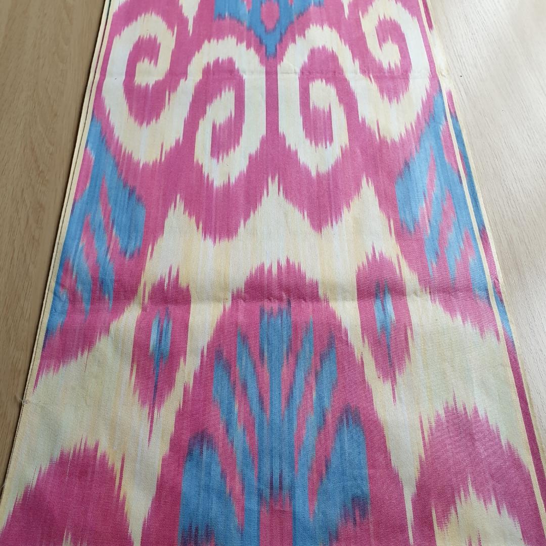 Узбекская ткань Икат (адрас/атлас)