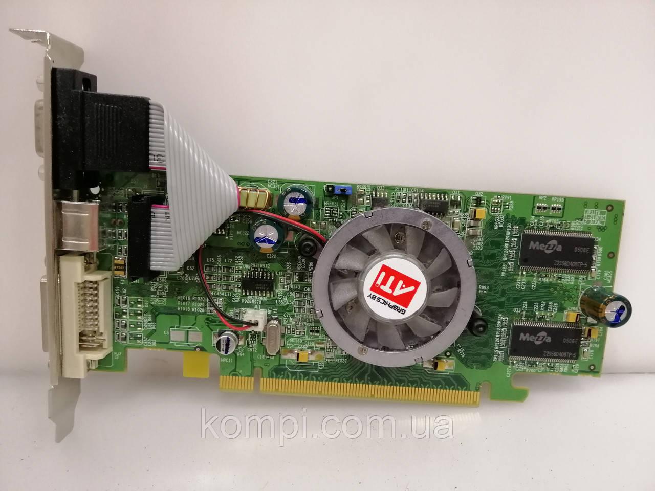 Видеокарта ATI X300 128mb PCI-E