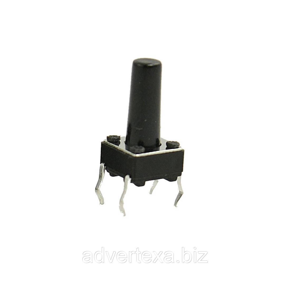 Кнопка DIP микро без фиксации 4 pin 6x6x10 мм