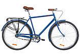 """Чоловічий дорожньо-міський велосипед DOROZHNIK COMFORT MALE 28""""(сірий), фото 2"""