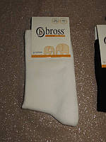 Р. 25-27 ( 3-5 лет ) носочки детские Bross демисезонные ОДНОТОННЫЕ белые