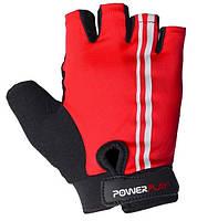 Велоперчатки PowerPlay red/white