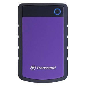 Внешний жесткий диск TRANSCEND TS2TSJ25H3P Storejet 2.5 2TB H3 Фиолетовый