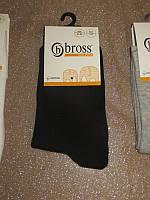 Р. 31-33 ( 7-9 лет ) носочки детские Bross демисезонные ОДНОТОННЫЕ черные