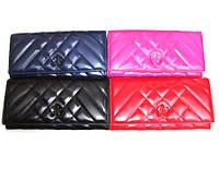 Женский кошелек Chanel (Шанель) TD5242 кожвинил разные цвета