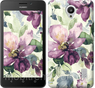 Чехол на Huawei Y635 Цветы акварелью