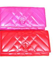 Женский кошелек Chanel (Шанель) TD207 кожвинил разные цвета