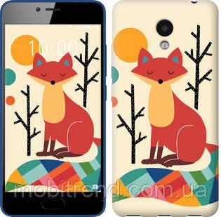 Чехол на Meizu M5c Rainbow fox