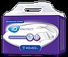 Гигиенические пеленки iD Protect Plus 40х60 см, 30 шт