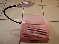 Вытяжка для маникюра  858-6 с двумя вентиляторами и подсветкой