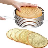 BN-1035 Форма раздвижная для нарезки бисквита (круглая) BN-1035-Б