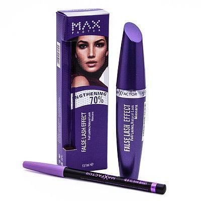 Набор MAX FACTOR 2 в 1: тушь для ресниц Max Factor False Lash Effect + карандаш