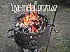 Мангал кованый круглый - Фото