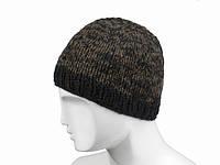 Шерстяная шапка зимняя теплая