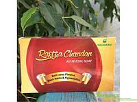 Аюрведичне мило Червоний Сандал Ракта Чандан Нагарджуна, 75 г, Nagarjuna Raktha Chandan Red Sandal Soap, Аюрведическое мыло Крас