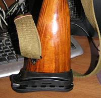 """Амортизатор (тыльник, затыльник) """"КАЛОША"""" для деревянного приклада СКС 1.5см"""