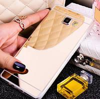 Зеркальный силиконовый чехол для Samsung Galaxy J7 Prime